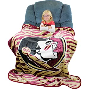 Northwest University of South Carolina Gamecocks Fleece Comfy Throw The Blanket with Sleeves