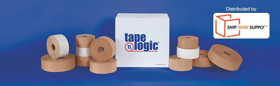 amazon com tape logic 7500 pre printed reinforced water activated