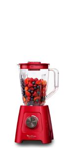 Moulinex Perfect Mix+ LM811D - Batidora de vaso de 1200 W, vidrio ...