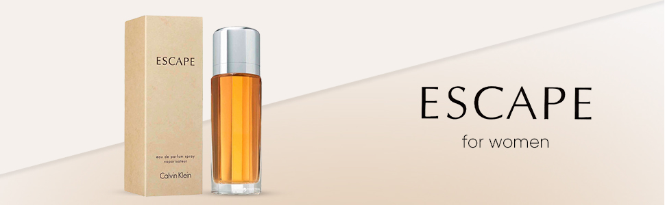 Calvin Klein Escape for Women Eau de Parfum, 100 ml: Amazon.co.uk: Luxury  Beauty