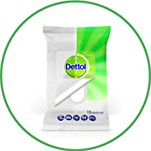 wipes; dettol; clean