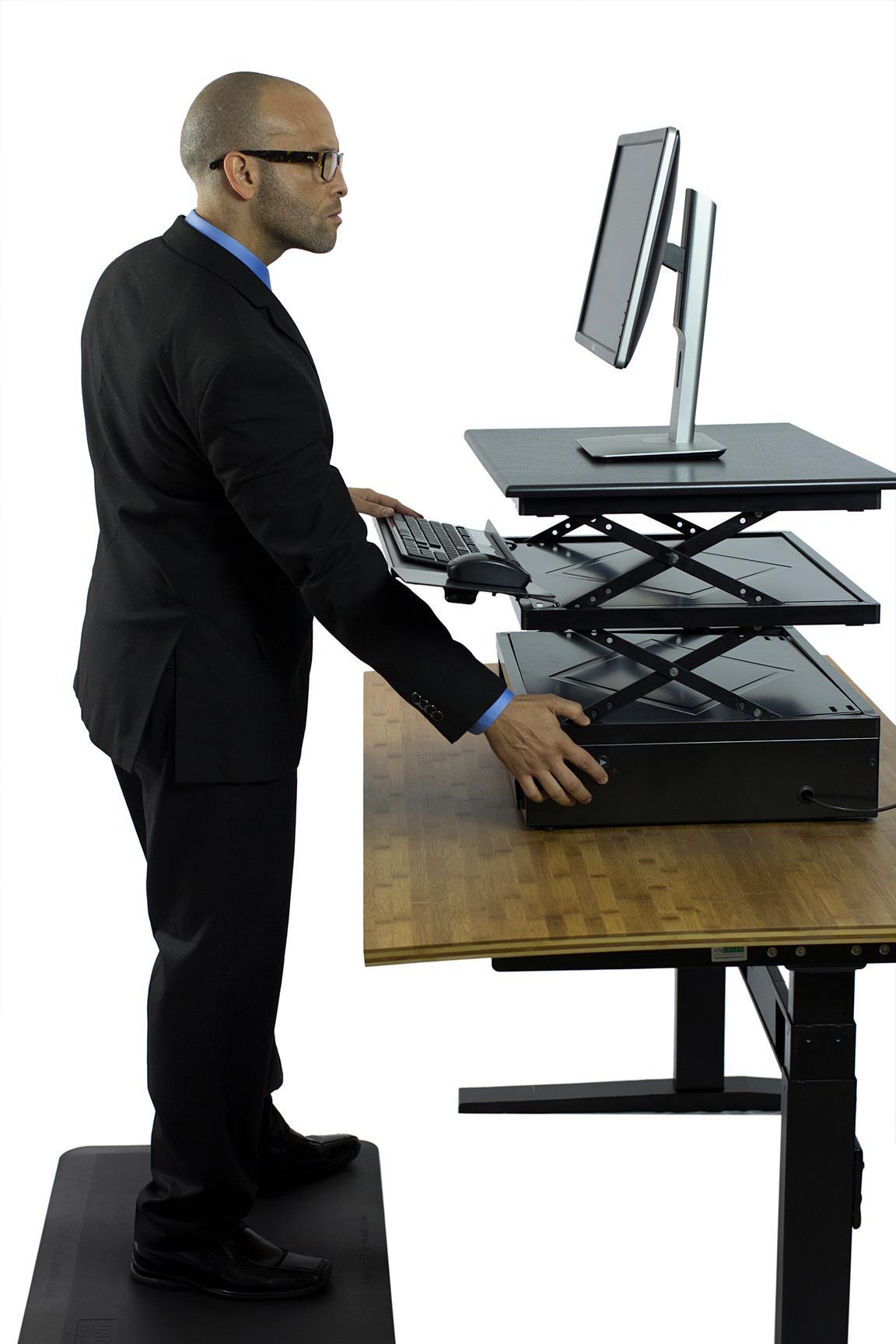 electric changedesk powered height adjustable. Black Bedroom Furniture Sets. Home Design Ideas