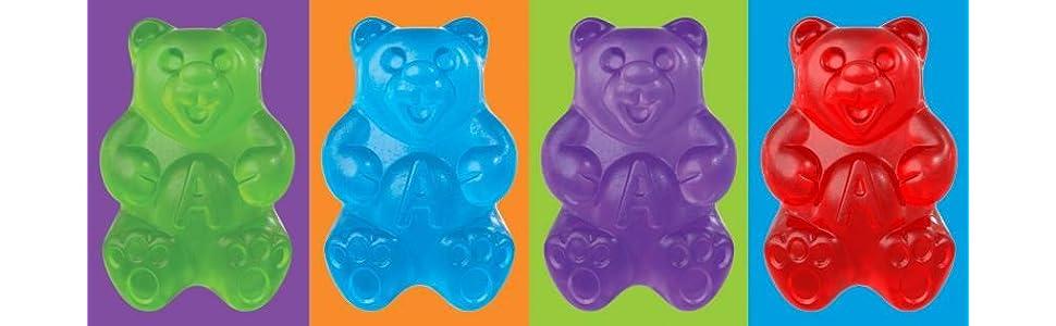 Gummi Bears, Albanese Gummi Bears, Made in the USA