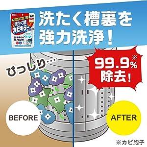 洗たく槽カビキラー, 洗濯槽, 粉末, パウダータイプ, 洗濯槽クリーナー