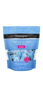 Single Neutrogena Cleansing Facial Wipes, Individually Wrapped
