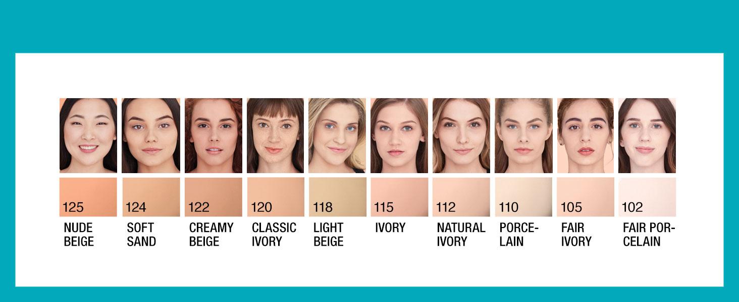 foundation for dark skin, matte finish foundation, foundation for oily skin