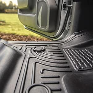 Terrain Husky Liners 98132 Gray Front /& 2nd Seat Floor Liners for Equinox