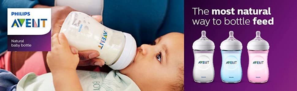 The most natural way to bottle feed | Philips Avent Natural Baby Bottle Essentials Gift Set