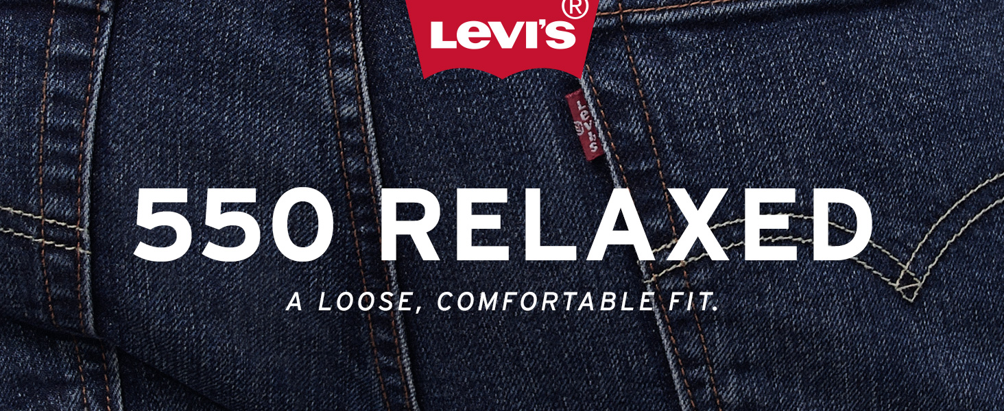 Mens Levis 550 Relaxed Jean