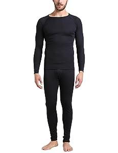 Elástica, cálida y transpirable: el conjunto de ropa interior térmica para hombre ofrece una regulación térmica ideal. El material funcional de la camiseta ...