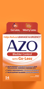 Azo Bladder Control >> Amazon Com Azo Bladder Control With Go Less Daily Supplement
