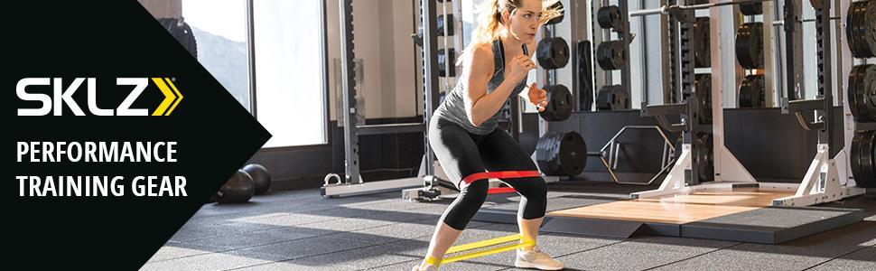 SKLZ Bands Unisex Resistance Lightweight Sport Activity Workout Compact