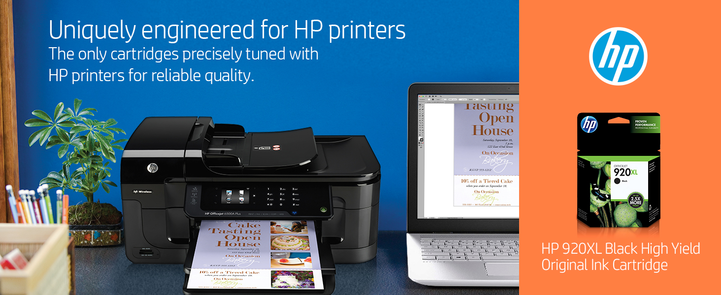 Hp Ink HP 920 Printer Black Color Tricolor