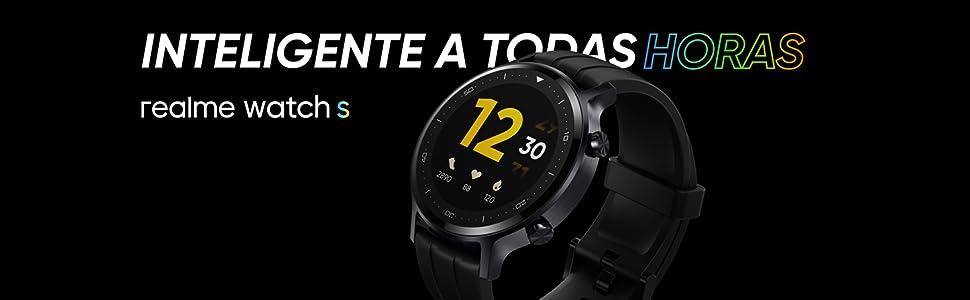 realme Watch S. Smartwatch. Android y Bluetooth 5.0. Resistencia IP68