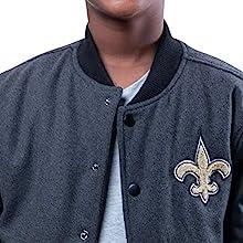 Ultra Game NFL Boys Classic University Varsity Jacket