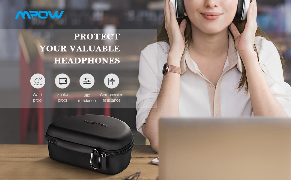 Mpow Headphone Carrying Case