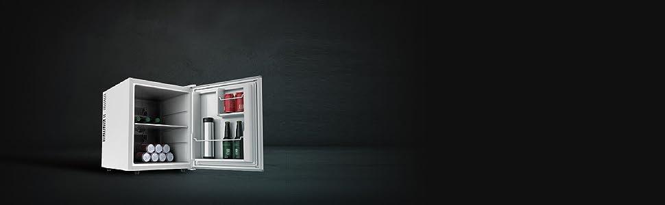 Cecotec mini bar GrandCooler 10000 Silent White, de 46 L de ...