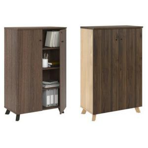 Ameriwood Home Storage Cabinet, Walnut