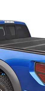 TYGER T3 Alloy Hard Top Tri Fold Tonneau Truck Bed Cover