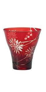 切子 きりこ キリコ ペア 記念品 ギフト セット 父の日 日本酒グ  ラス 焼酎 タンブラー