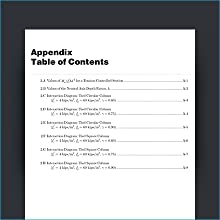 Numerous tables, figures, appendices, easy-to-use glossary, and complete index are all included
