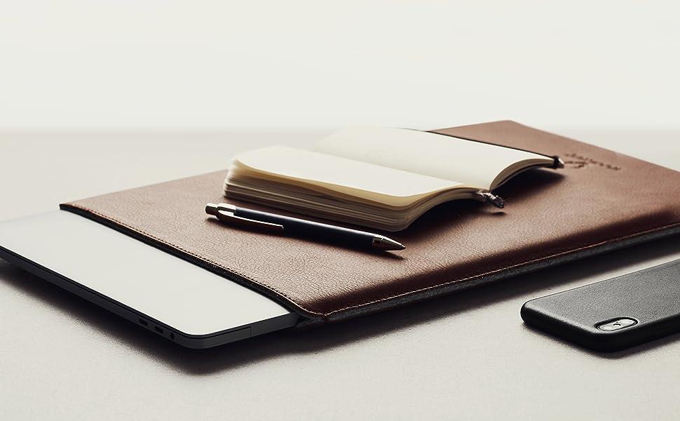 Woolnut about us Apple MacBook iPad Case Sleeve Folio