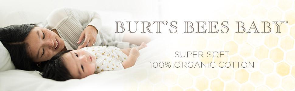 e56b538ea Burt's Bees Baby Unisex-Baby Baby Organic Zip Front Sleeper: Amazon ...