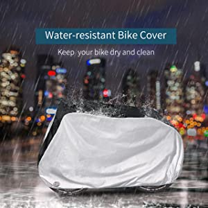 Water-resistant Bike Cover