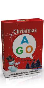 AGO クリスマス 英語 カード ゲーム