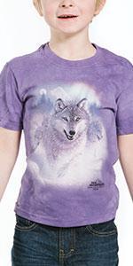 e66176e36 Amazon.com: The Mountain Men's Three Wolf Moon Short Sleeve Tee ...