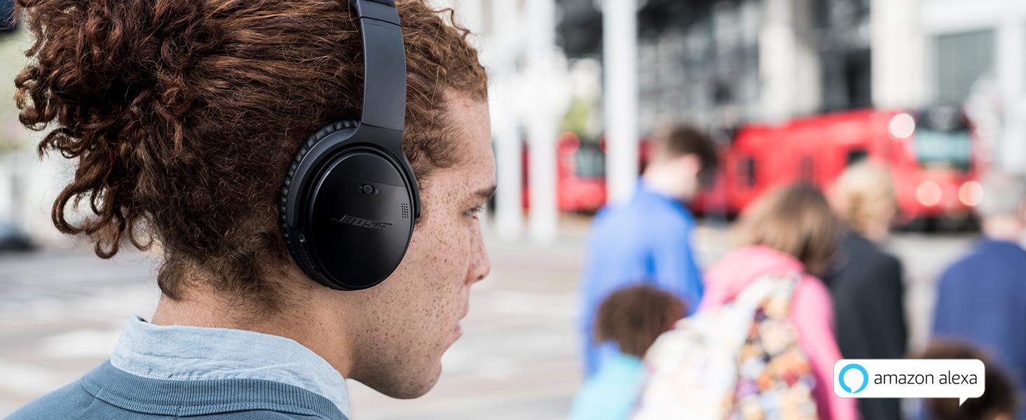 alexa, bose, qc 35 ii, noise cancelling, headphones