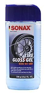 Sonax Tire gloss gel wet dry