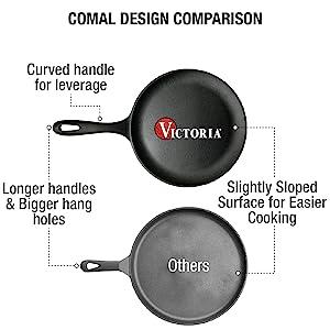 comal griddle round griddle