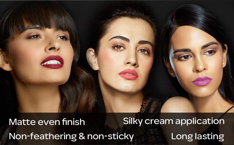 HD Lipstick, Lipstick Primer, Matte Lipstick, Intense Matte Lipstick