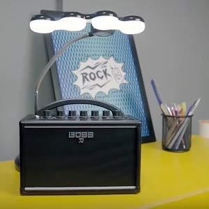 Espíritu rock en un amplificador compacto a pilas