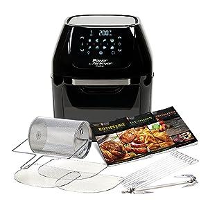 power air fryer, cooker, rotisserie, mini oven, chip fryer