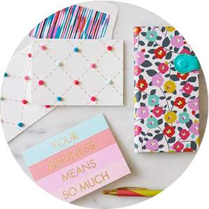 greeting cards;cards;stationery;journals;note pads;note caddies;thank yous;boxed cards;gift wrap