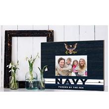 Navy Team Spirit Slat Frame with Logo