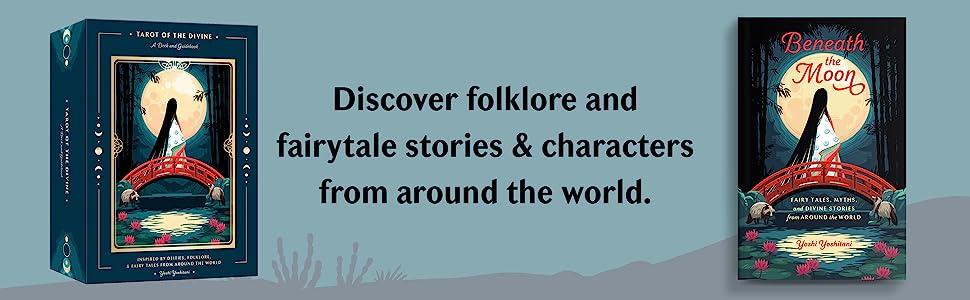 Folklore, Tarot card decks, tarot cards, mythical tarot cards, myth retelling, tarot card gifts