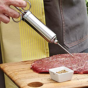 Made of #304 stainless steel; FDA approved stainless steel; 100% food safe