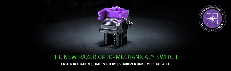 新しい Razer Opto-Mechanical™ スイッチ