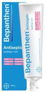 Bepanthen Antiseptic Cream Antiseptic Cream, Cream for cuts, cream for burns, antiseptic