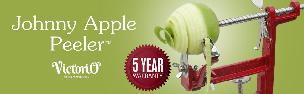 johnny apple peeler clamp base vkp1011