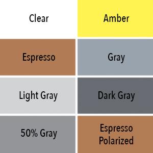 Uvex Lens Tint Options