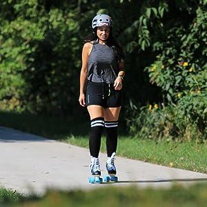 Sabina on the trail