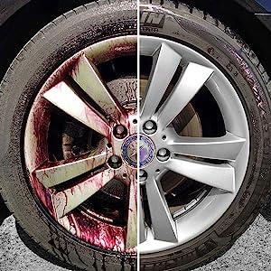 sonax wheel cleaner rim dirt remover grime
