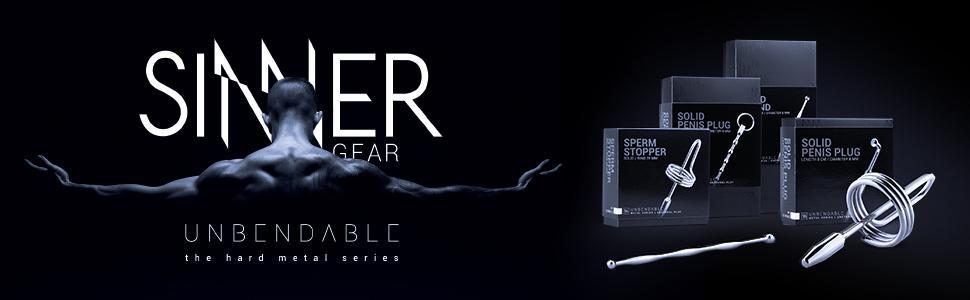 Sinner Gear - Dilatador acanalado de metálico - (Ø longitud ...
