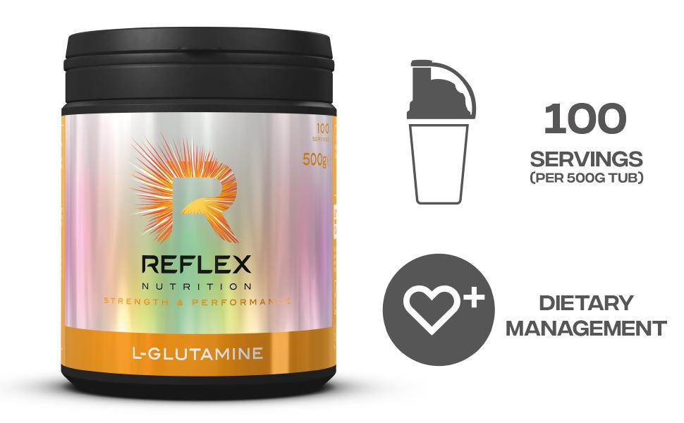 Reflex Nutrition Suplemento De L-Glutamina Reflex Nutrition ...