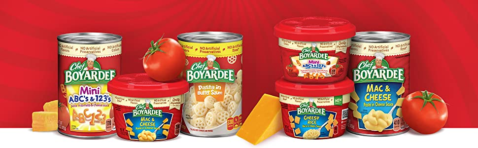 Fun Meals for Kids – Chef Boyardee Fun Flavors for the Whole Family