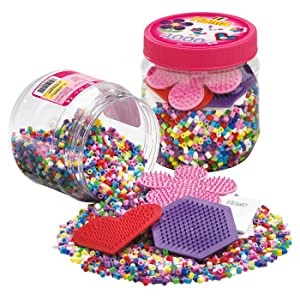 Hama beads and pegboards